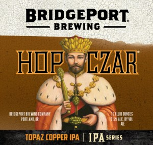Hop Czar Topaz Copper Label
