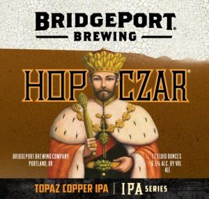 Hop Czar Topaz Copper Label