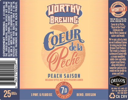 Worthy Brewing Releases Fruit Focused Seasonals!